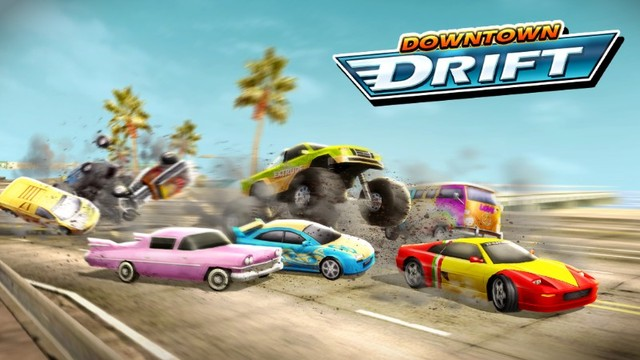 Downtown Drift - Free online racing game on m